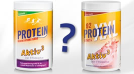 Protein-Regenerationsturbo oder Protein-XXL 92?