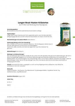 Lungen-Brust-Husten-Kräutertee 150 g
