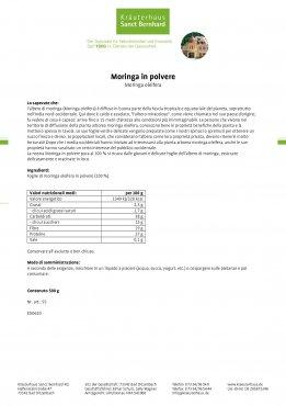 Moringa in polvere 500 g