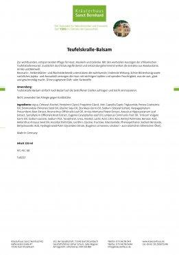 Teufelskralle-Balsam 150 ml