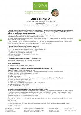 Capsule lassative SN 120 capsule
