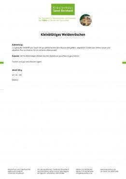 Kleinblütiges Weidenröschen 500 g 500 g