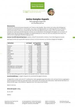 Amino-Komplex-Kapseln 200 Kapseln
