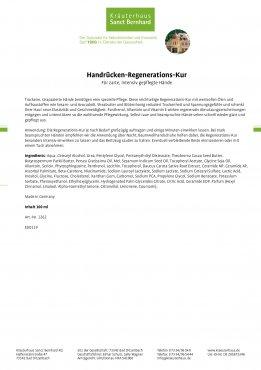 Handrücken-Regenerations-Kur 100 ml