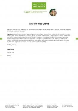 Anti-Cellulite-Creme 100 ml