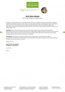 Anti-Akne-Set (Kombipackung gegen unreine Haut) 3 Stück