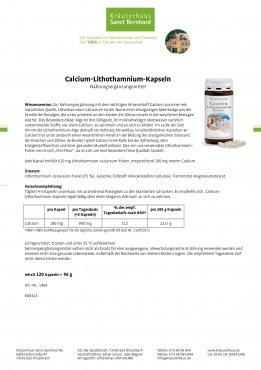 Calcium-Lithothamnium-Kapseln 120 Kapseln