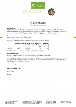 Calcium-Kapseln 300 Kapseln
