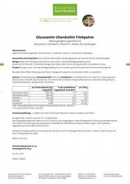 Glucosamin-Chondroitin-Trinkpulver 150 g