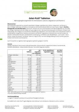 Gelat-PLUS®   3x 1600 Tabletten 4800 Tabletten