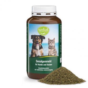 tierlieb Farina di alghe marine per cani e gatti 300 g