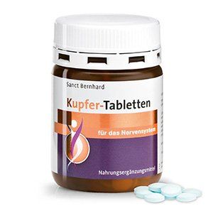Copper Tablets 180 tablets