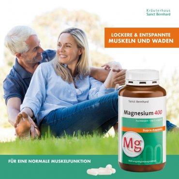 Magnesium-400-supra Kapseln 300 Kapseln 300 Kapseln