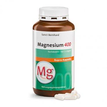 Magnesium 400 supra Capsules · 300 capsules 300 capsules