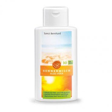 Aloe-Vera-Sonnenschutzmilch LSF 30 250 ml