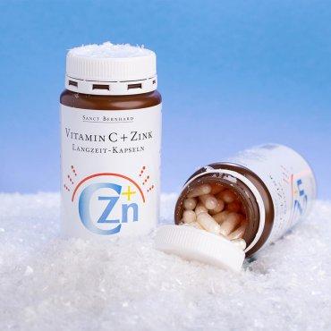 Capsule di vitamina C e zinco a rilascio prolungato 180 capsule