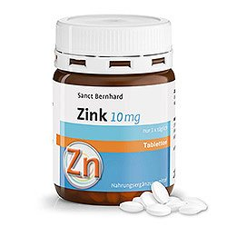 Zinc Tablets 10 mg 210 tablets