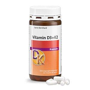 Gélules Vitamine-D3+K2 180 gélules