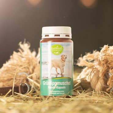 tierlieb Grünlippmuschel Hunde-Kapseln 170 Kapseln