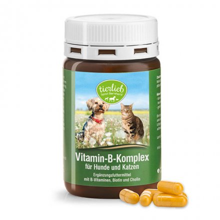 tierlieb Vitamin-B-Complex for dogs and cats 120 capsules